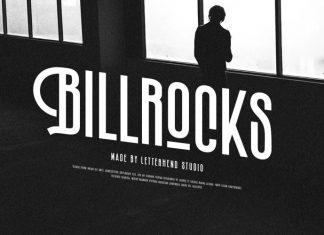 Billrocks Sans Serif Font