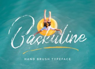 Baskuline Brush Font