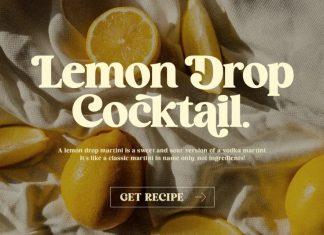 Cocktail Serif Font