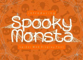 Spooky Monsta Display Font