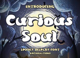 Curious Soul Display Font