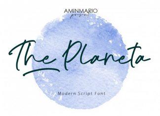 The Planeta Handwritten Font