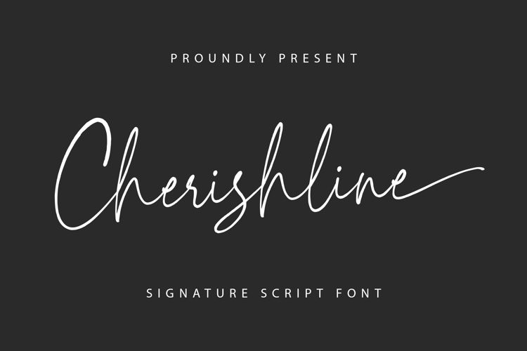 Cherishline Script Font