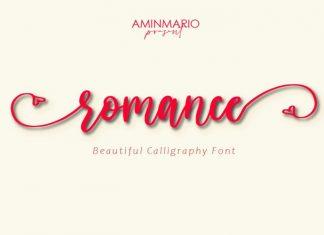 Romance Calligraphy Font
