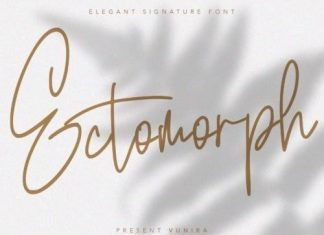 Ectomorph Handwritten Font