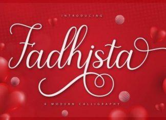Fadhista Calligraphy Font