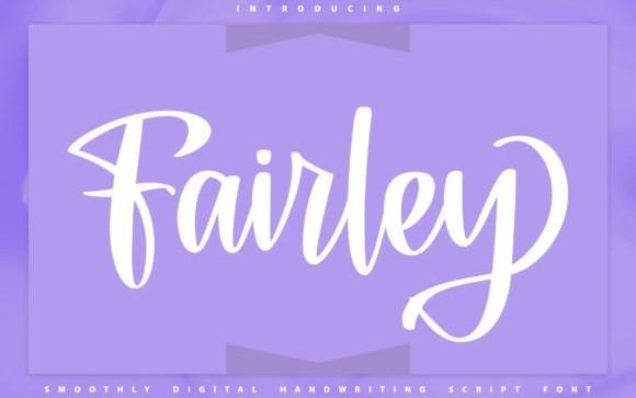 Fairley Handwritten Font