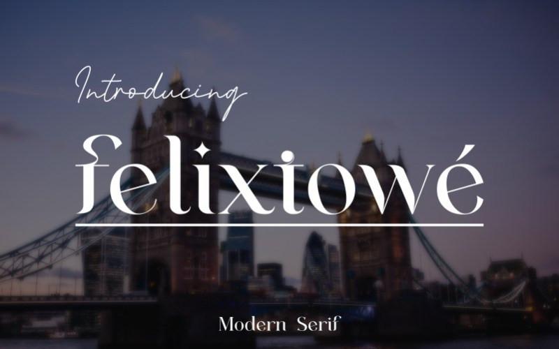 Felixtowe Font