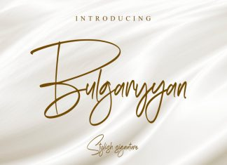 Bulgaryyan Script Font