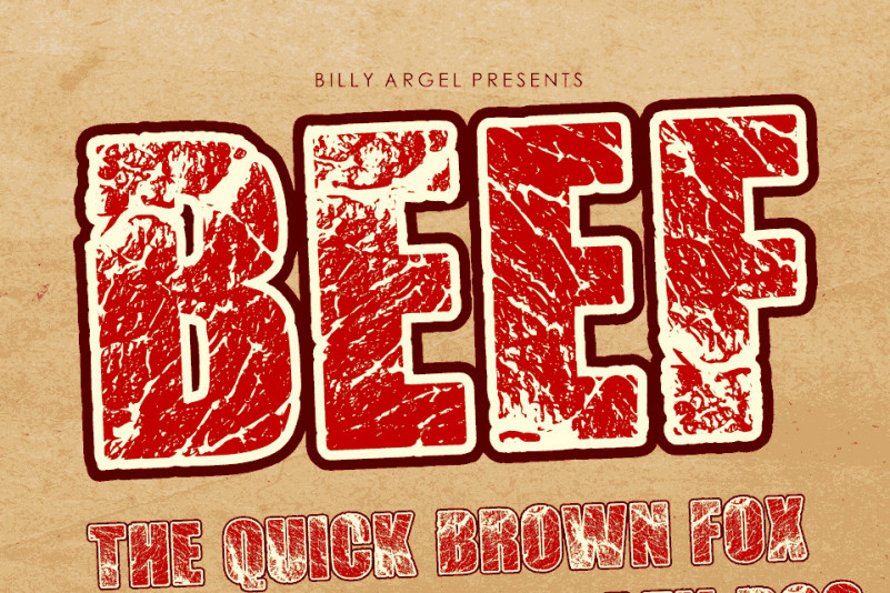 BEEF Display Font
