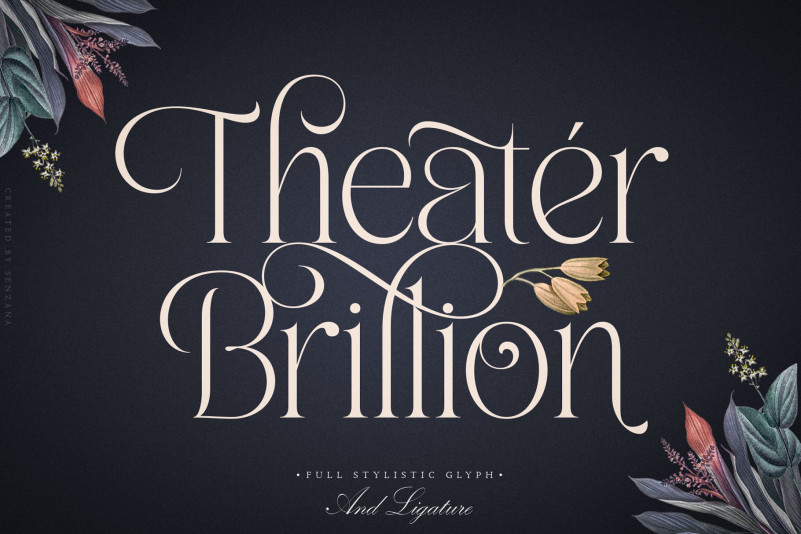 Theater Brillion Serif Font