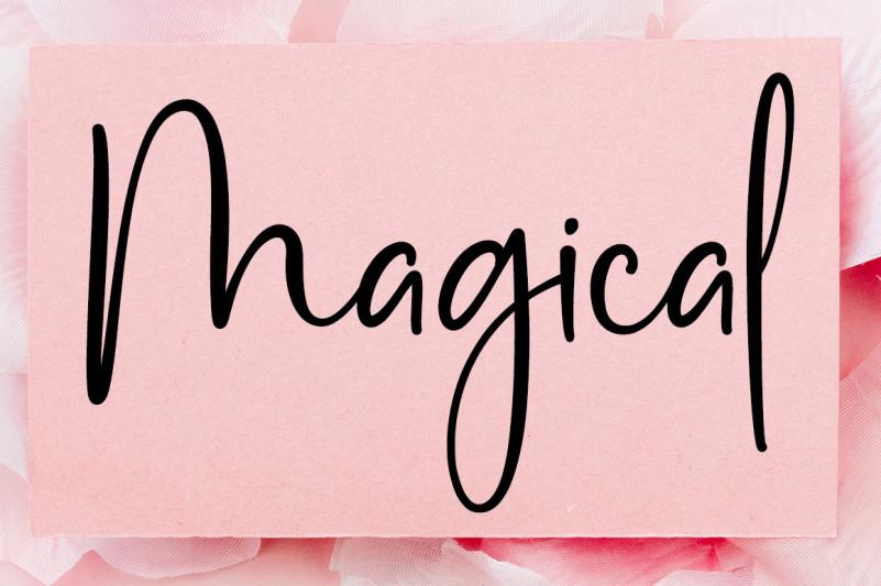 Pink Pastel Script Font