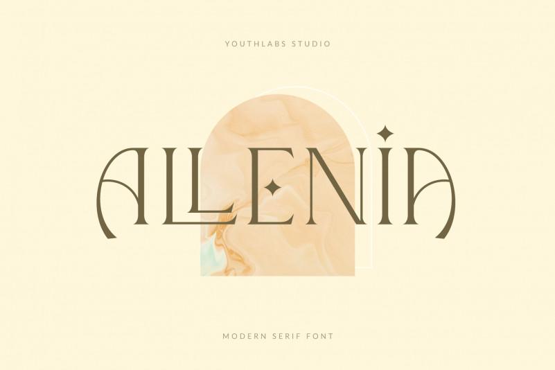 Allenia Serif Font