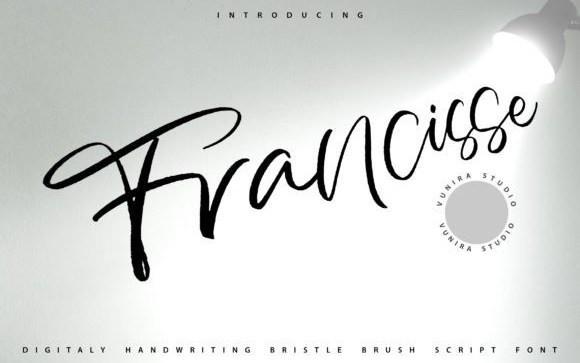 Francisse Script Font