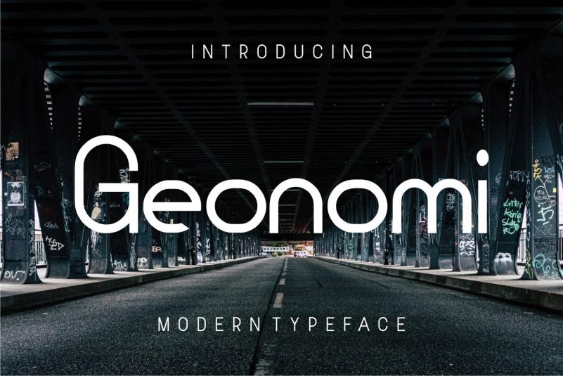 Geonomi Sans Serif Font