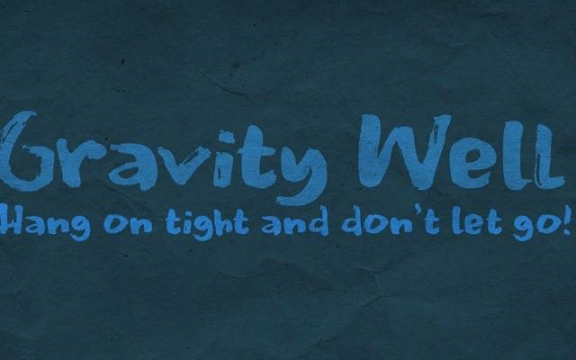 Gravity Well Brush Font