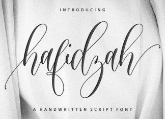Hafidzah Calligraphy Font