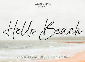 Hello Beach Script Font
