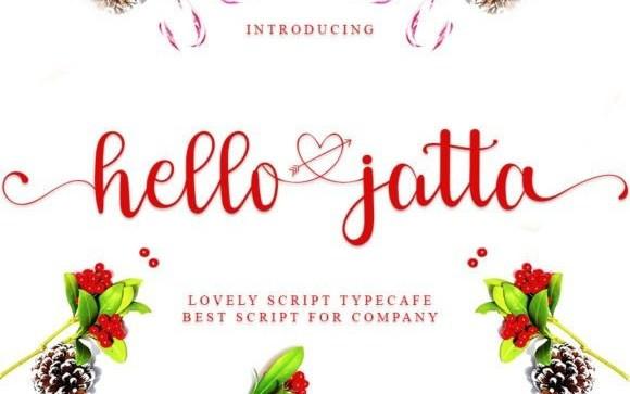 Hello Jatta Script Font