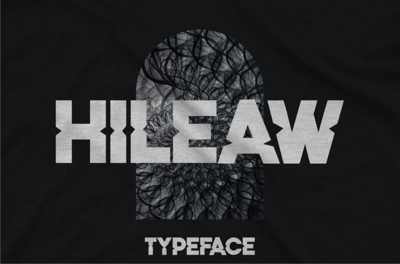 Hileaw Display Font