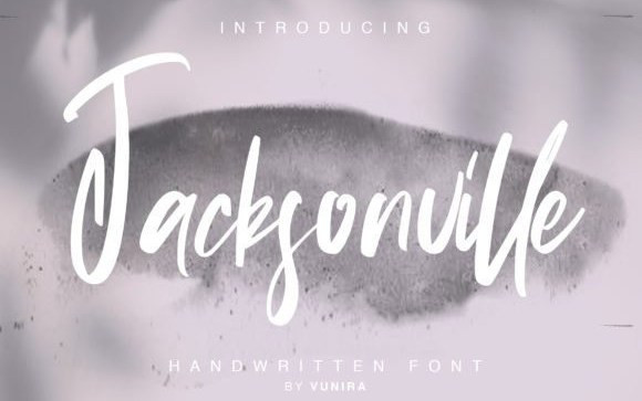 Jacksonville Script Font