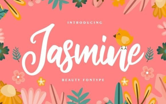 Jasmine Script Typeface