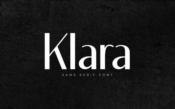 Klara Sans Serif Font