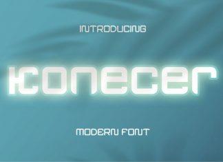 Konecer Display Font