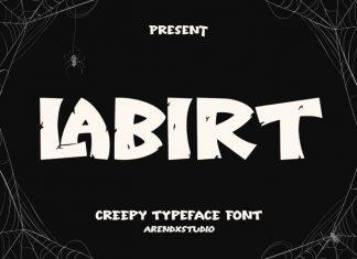 Labirt Display Font