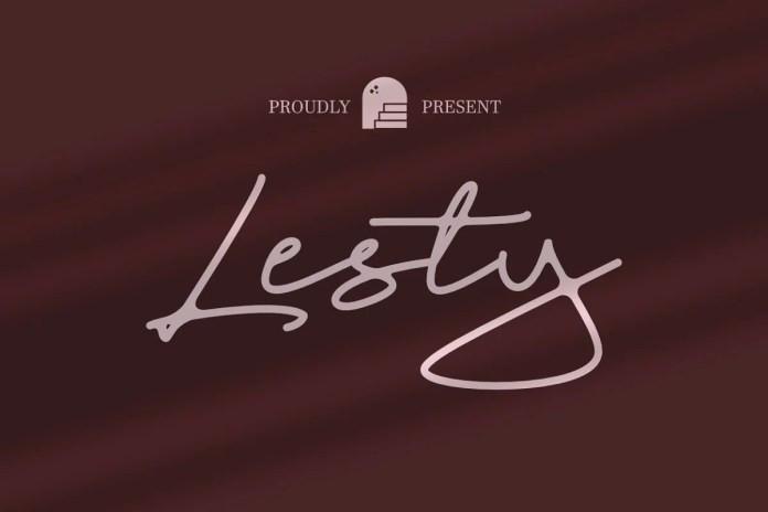 Lesty Handwritten Font