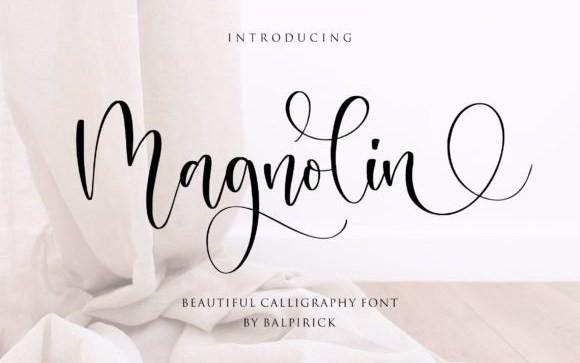 Magnolin Script Font