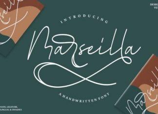 Marseilla Script Font