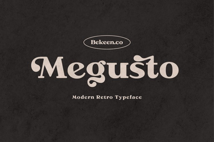 Megusto Serif Font