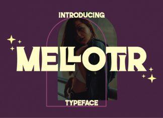 Mellotir Display Font