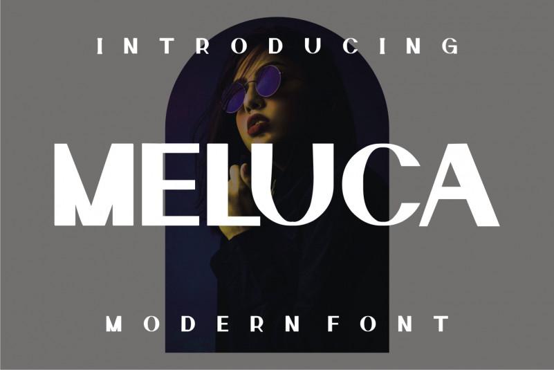 Meluca Sans Serif Font
