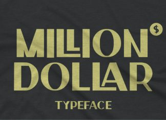 Million Dollar Display Font