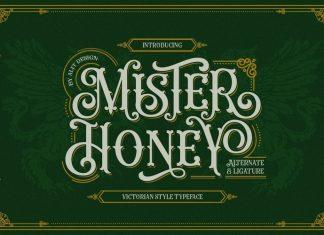 Mister Honey Display Font
