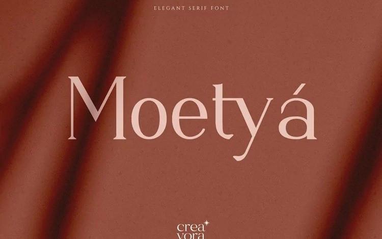 Moetya Serif Font