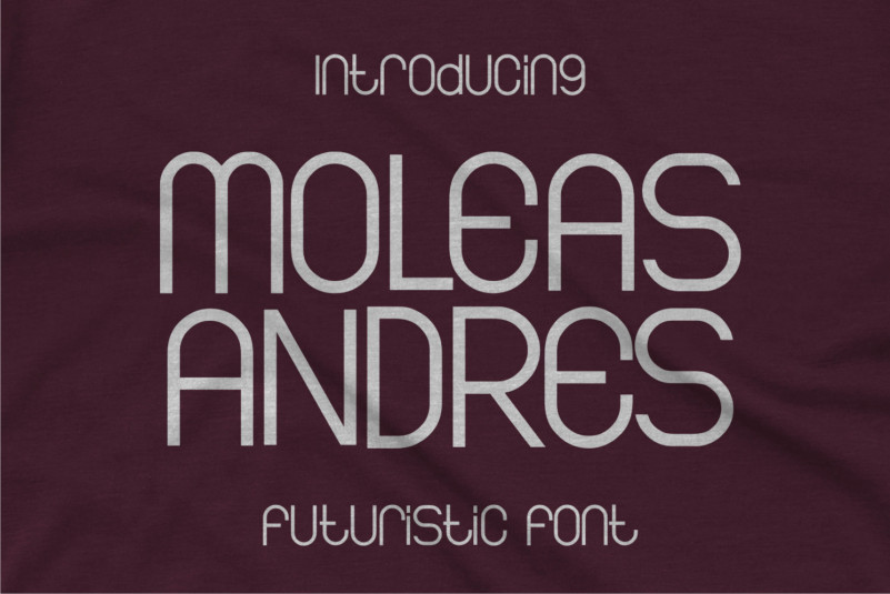 Moleas Andres Display Font