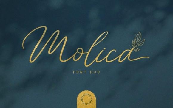 Molica Script Font