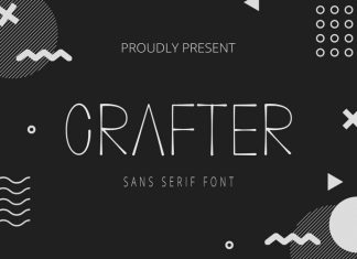 Crafter Display Font