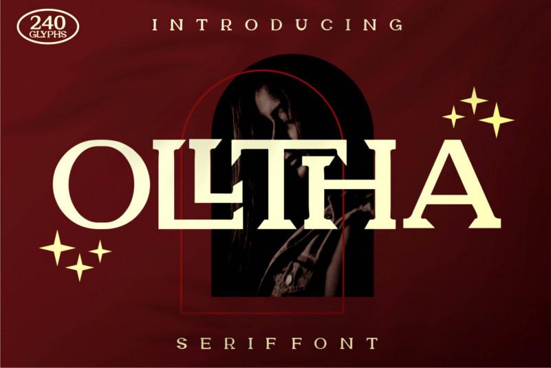 Olltha Serif Font