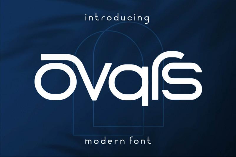 Ovars Display Font