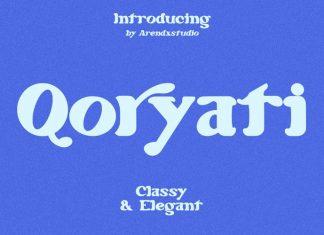 Qoryati Serif Font