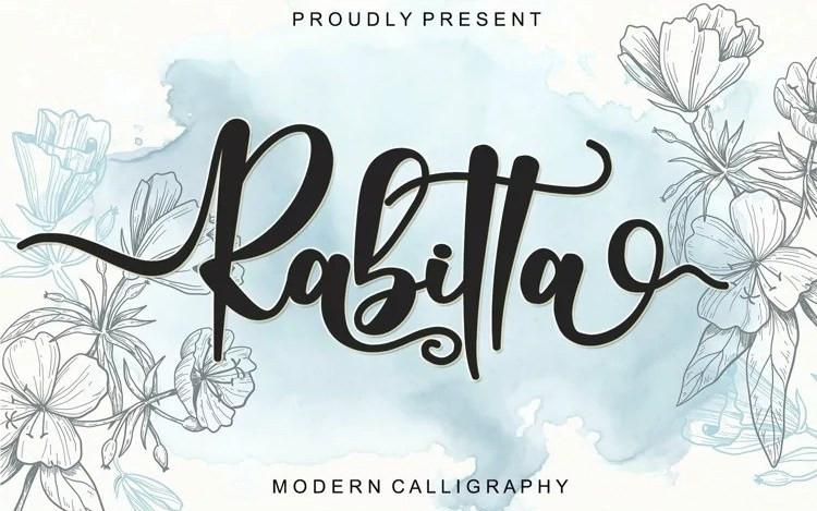 Rabitta Script Font