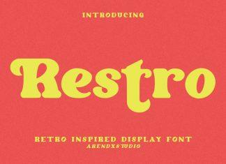 Restro Serif Font