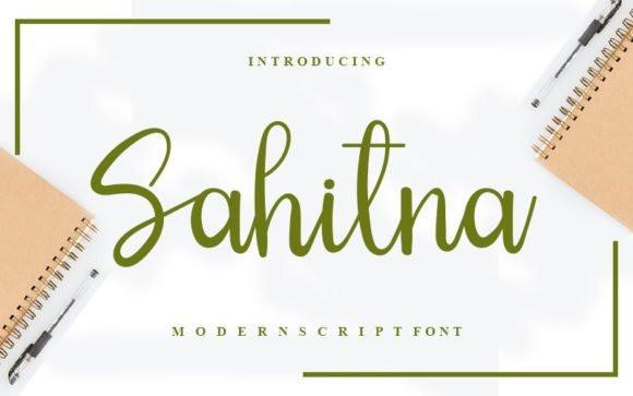 Sahitna Script Font