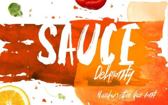 Sauce Brush Font