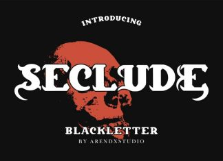 Seclude Display Font