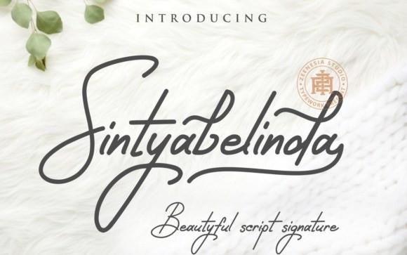 Sintyabelinda Handwritten Font